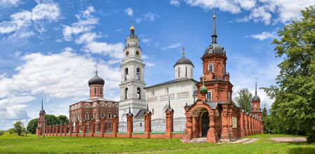 Volokolamsk kremlin (buidings of 15-18 century) located on place of ancient hillfort, Moscow region, Russia