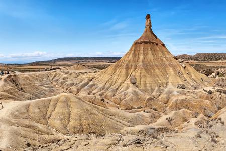 geological formation: Castildetierra - geological formation in Bardenas Reales natural park, Navarra, Spain