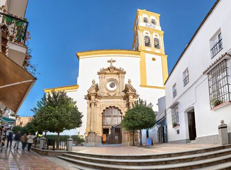 incarnation: Church of Our Lady of the Incarnation in the Old Town of Marbella, Andalusia, Spain