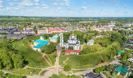 Dmitrovsky Kremlin is a partially preserved ancient fortress of the 12th century in the city of Dmitrov, located north of Moscow