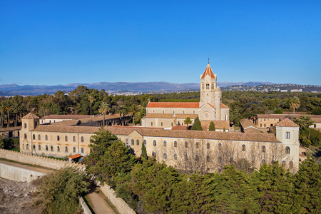 Lerins Abbey is a Cistercian monastery on the island of Saint-Honorat, one of the Lerins Islands, on the French Riviera