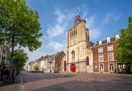 Maastricht, Netherlands. St. Matthias Church (Sint-Matthiaskerk)  located on Boschstraat street