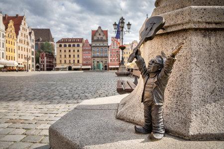 Wroclaw, Poland - 30 May 2020: Dwarf called