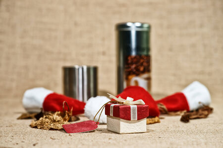 cosiness: Vintage gift box