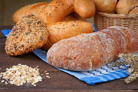 groats: Bread products  and oat groats