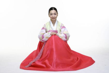 Couple in Korean Dress