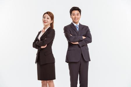 Porträt von professionellen asiatischen Geschäftsperson