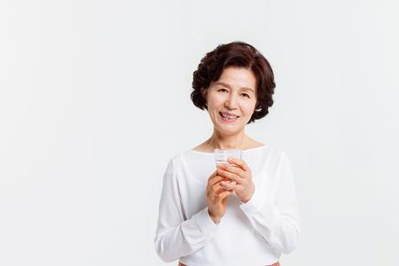 Portrait of Asian Senior Woman