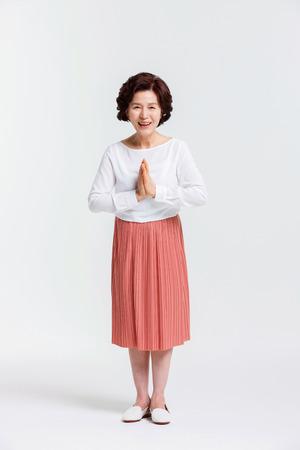 아시아 수석 여자의 초상화