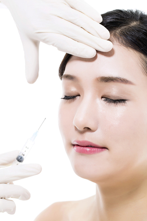 lift hands: Plastic Surgery Cosmetic  Injection in the Asian Female Face