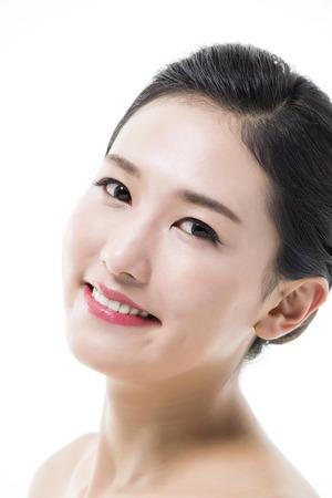 Beautiful Asian Woman  Beauty Concept