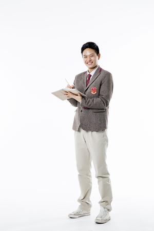Asian Highschool Students Stock Photo