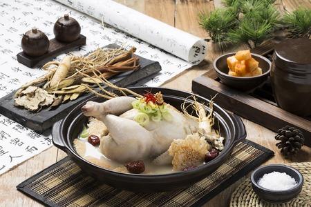 Comida sana coreana Foto de archivo - 66104833