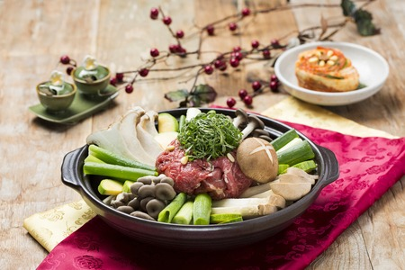 Korean Style Hotpot (Asian Cuisine)