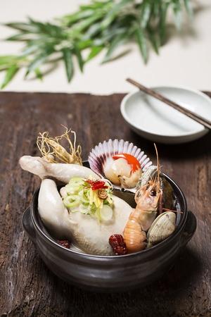 noix saint jacques: Korean Healthy Food