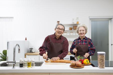 Asian Elderly, Senior Lifestyle Reklamní fotografie