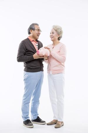 Asian Elderly, Senior Lifestyle Imagens