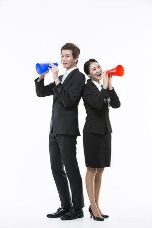 internships: Motivated Young Asian Job Seekers Stock Photo