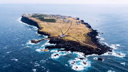 scenic spots: Scenic spots of Jeju seen from the sky