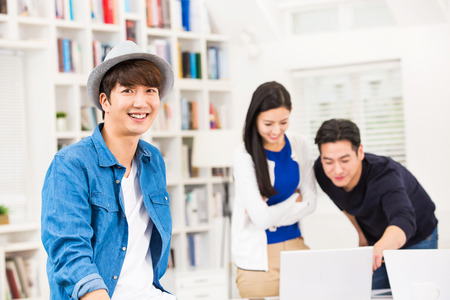 easygoing: Different aspects of young working people