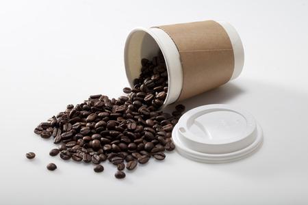 Coffee bean spillage