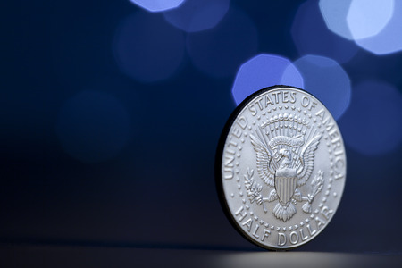 us coin: U.S. coin on display