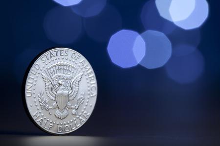 U.S. coin on display