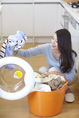 Mother's Laundry Time