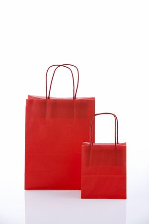 shoppingbag: Gift Bags In White Background