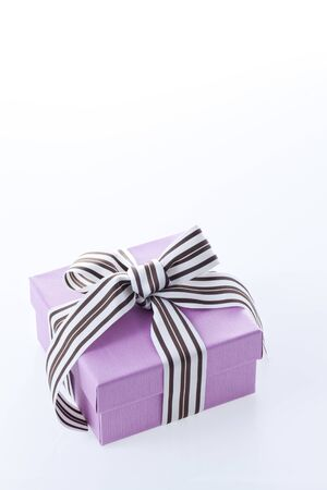 mothersday: Gift Box In White Background Stock Photo