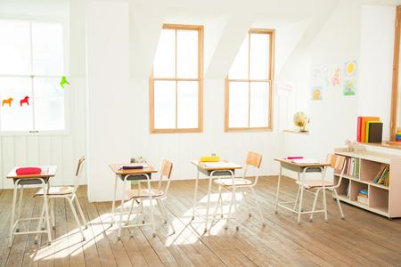 Ein leerer Klassenzimmer