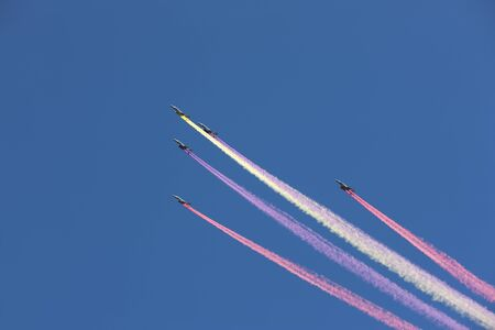 Armed Forces Day Airshow,  Seoul, South Korea Stock Photo