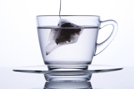 Tea In A Transparent Tea Cup