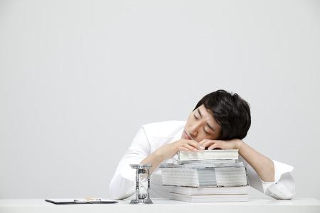 malcontent: Studio Shot Of A Malcontent Male Company Employee