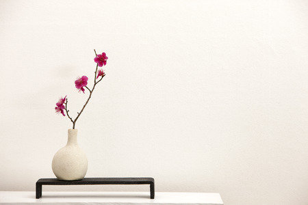 Studio ; plum flower arrangements
