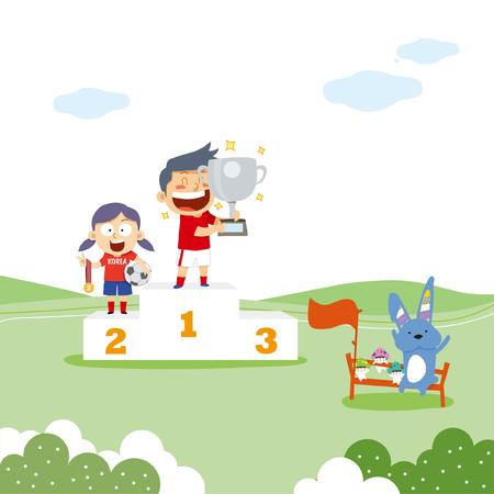 Sports illustration Illustration