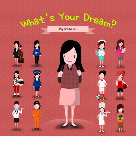 Girl With Many Career Ideas