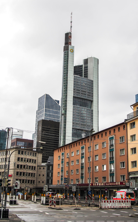 highriser: Europe Trip- Downtown Frankfurt, Germany