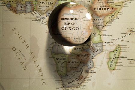Glass ball placed on a world map stock photo picture and royalty glass ball placed on a world map stock photo 69853471 gumiabroncs Images
