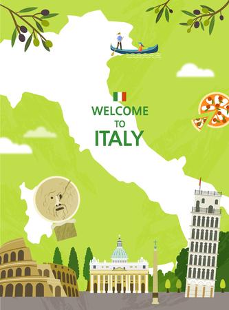 overseas: Traveling Overseas - vector