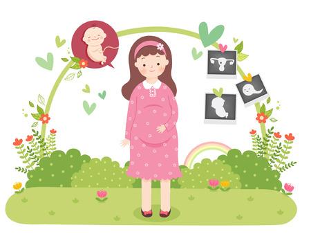 planificacion familiar: Ilustración vectorial de Planificación Familiar