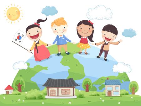 Diversity Awareness Vector Illustration