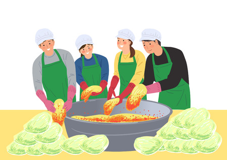 Volunteers Illustrations