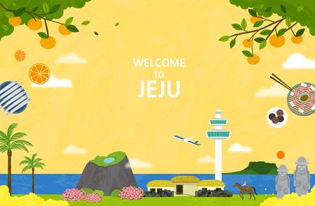 Korean Landmark - Vector 矢量图像