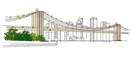 City View Illustration