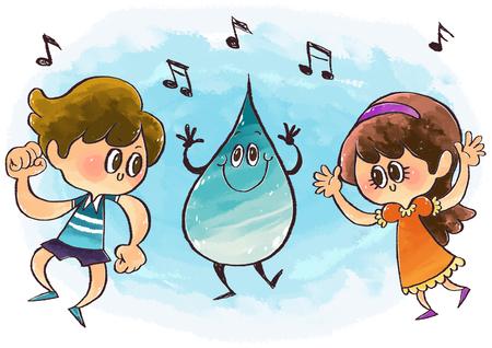 environmental awareness: Environmental Care Illustration Stock Photo