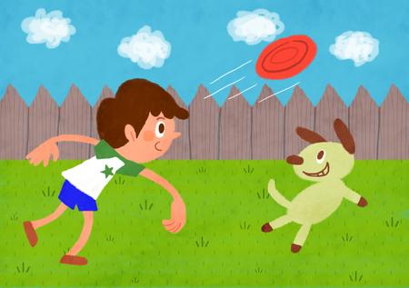 Summertime Fun Illustration