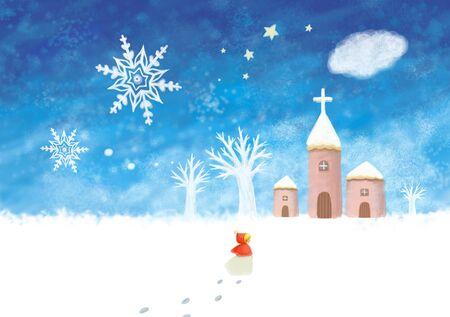 season: Season Themed Illustration Stock Photo