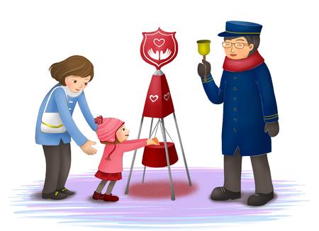 Social Services Illustration