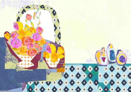 storybook: Beauty Concept Illustration